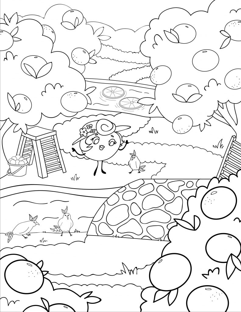 Waffle Smash coloring page of Citrus Creek