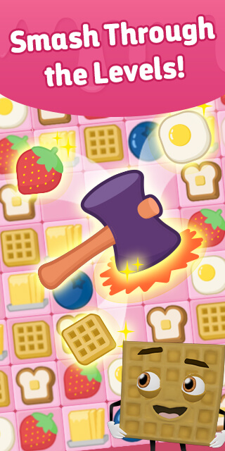 Waffle Smash Game Preview